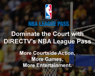 Dominate the Court with DIRECTV's NBA leauge pass